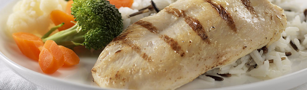 Low Sodium Grill Marked Chicken Breast 90g